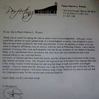 03/16/12 - Magnus Today - Whitney Houston Eulogist Marvin Winans Writes About Charice ChariceLetter
