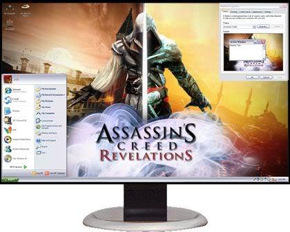 تحميل 7 ثيمات Xp Themes رائعة للاكس بى  AssassinsCreedRevelations