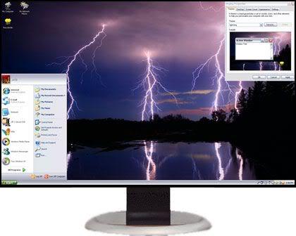 تحميل 7 ثيمات Xp Themes رائعة للاكس بى  LightningXPThemes