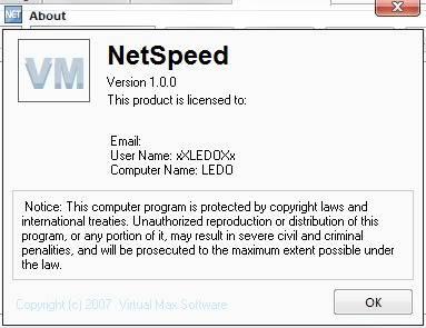 تحميل برنامج NetSpeed Bandwith Tweaker لتسريع النت 300%  Tweak