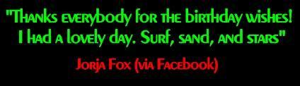 Jorja Fox Brasil - Portal Fox MensagemdaJorja