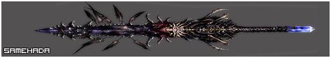 Las siete espadas de la Niebla Samehada
