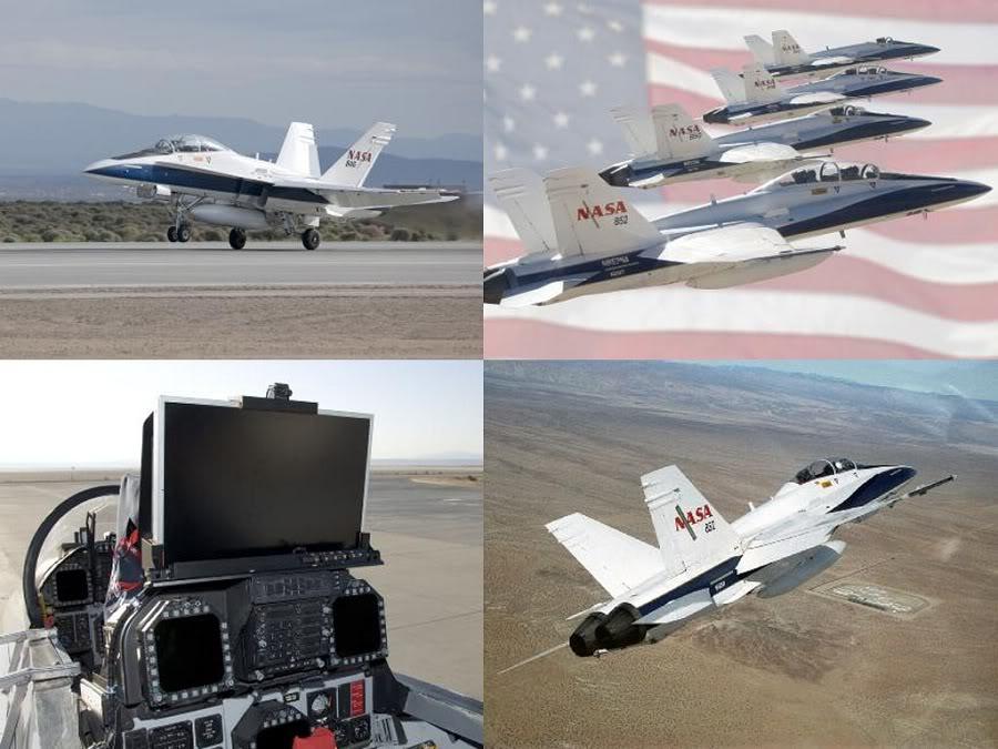 NASA (Frota de pesquisas da NASA) FA18A