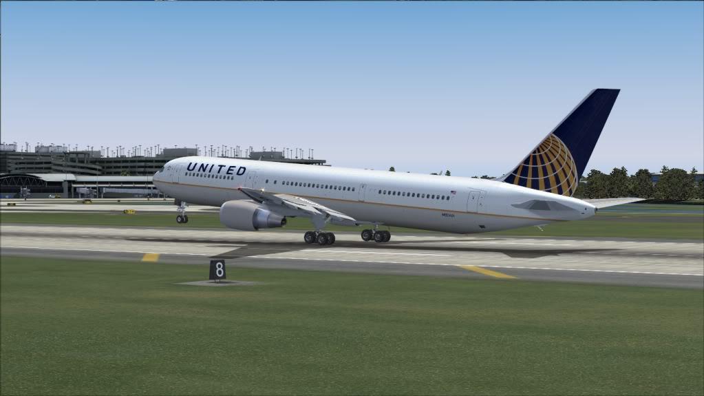 [FS9] Tampa - 767 United FS90023