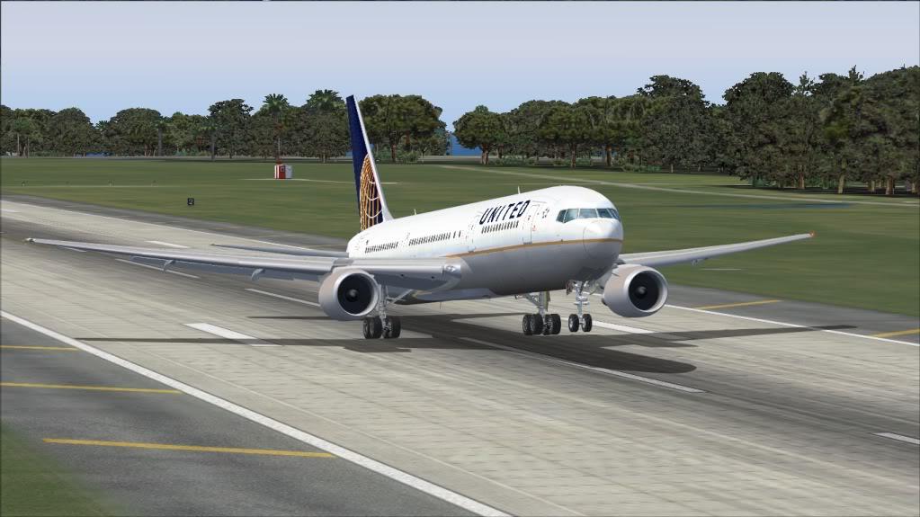 [FS9] Tampa - 767 United FS90024