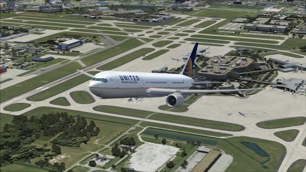 [FS9] Tampa - 767 United FS90025
