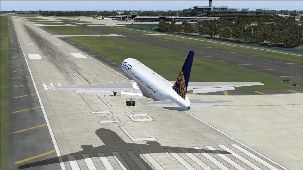 [FS9] Tampa - 767 United FS90028