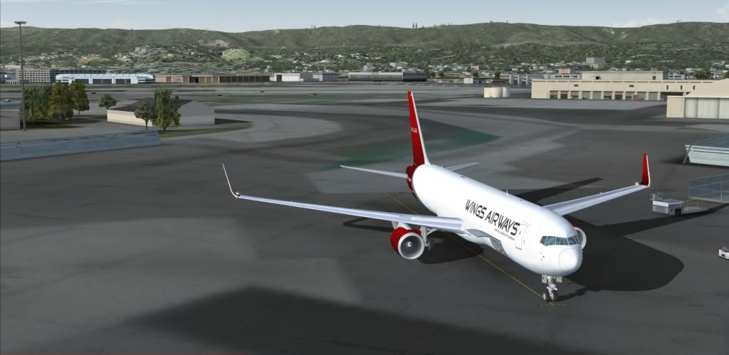 [FS9] Seattle (KSEA) - San Francisco (KSFO) Imagem28Jul231840-1