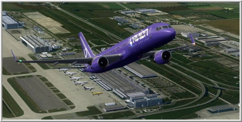 "[FS9] Voltando a ""Era do Jato"" Munich-Vienna32"
