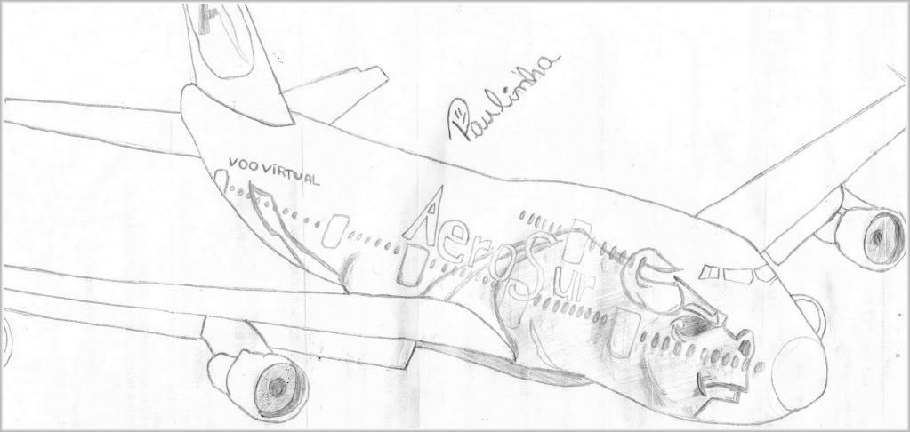 Boeing 737-900 Desenhado á mão Img049-1