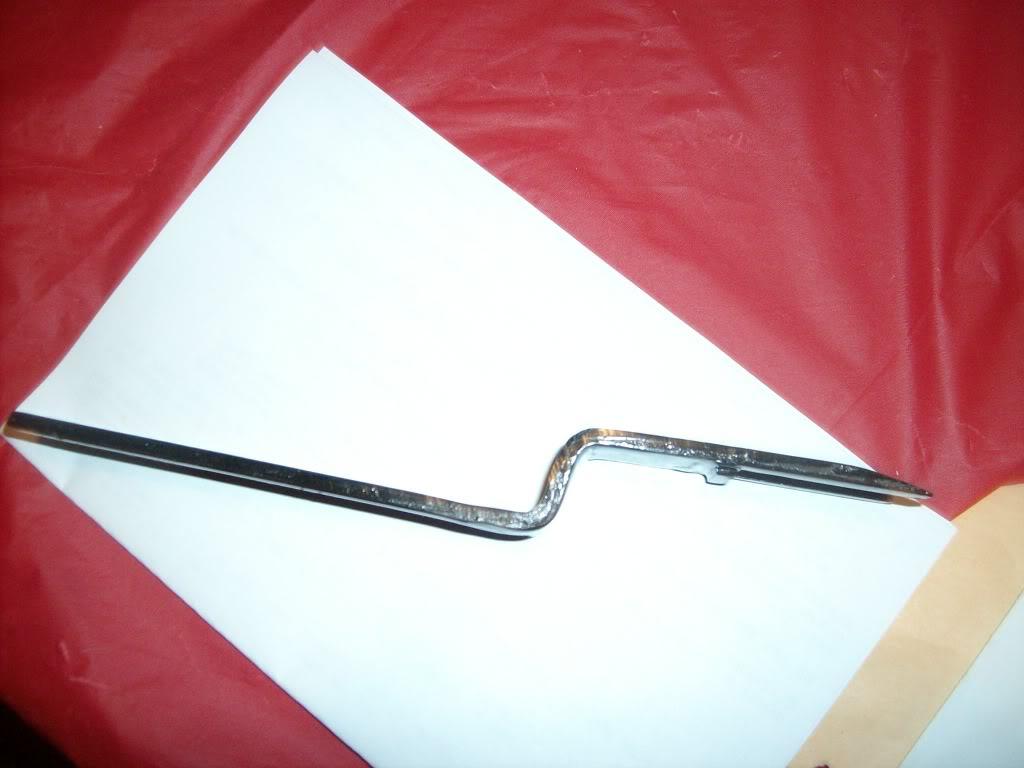 Interior door handles and window crank 003-7