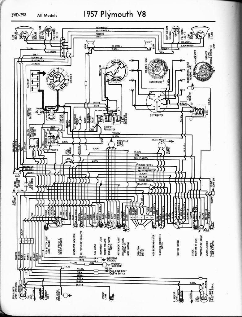 1958 plymouth wiring diagram rh christinecarclubforum com