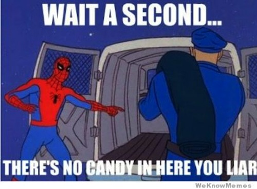 Post your dreams 60s-spiderman-meme-candy