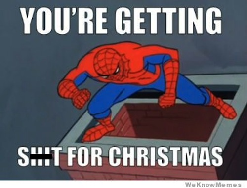 An error that I need fixed. 60s-spiderman-meme-christmas