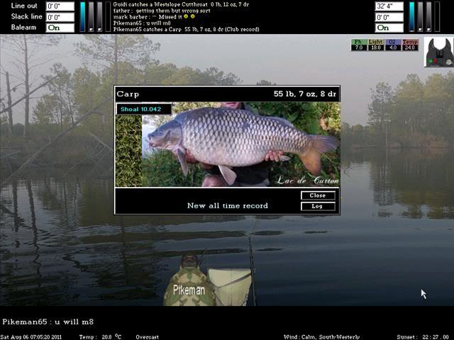 Lac de Curton Carp ScreenShot131