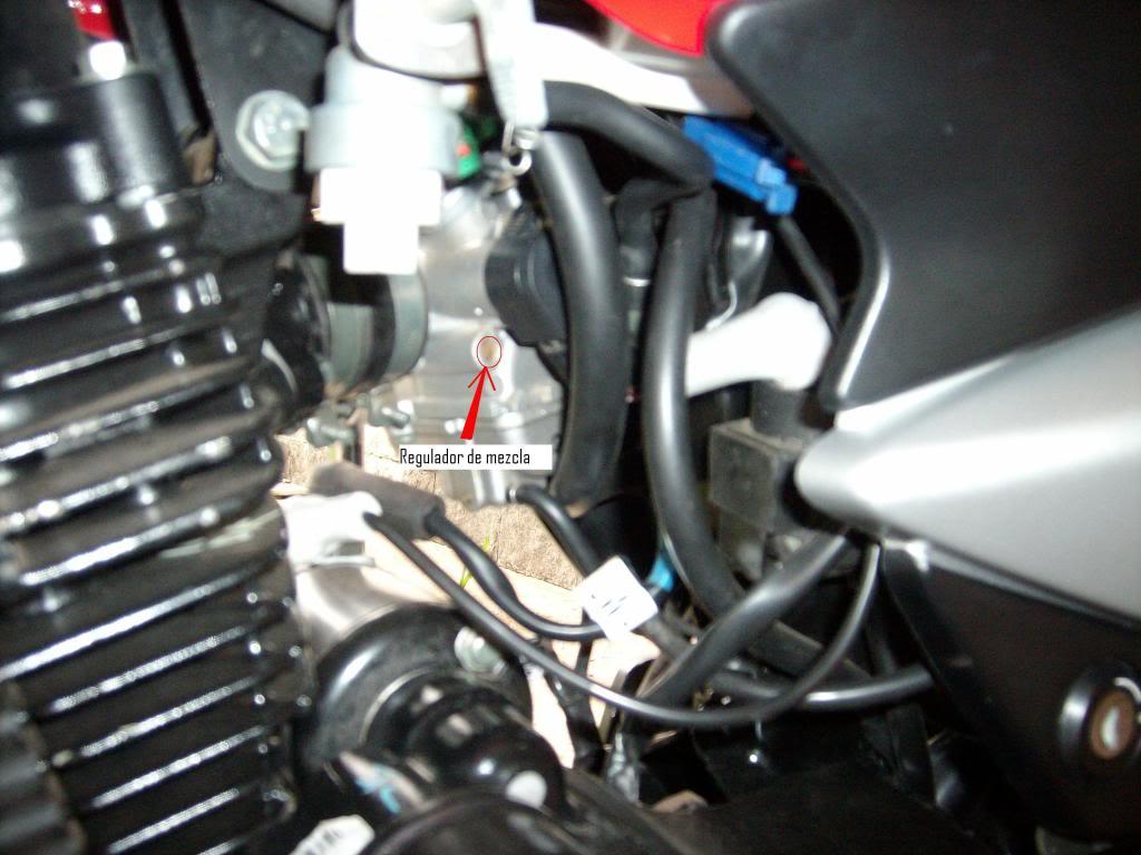 como regular la carburacion SANY4421