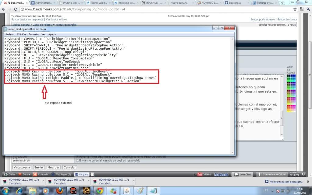HUD 2011 para rfactor Sdk4