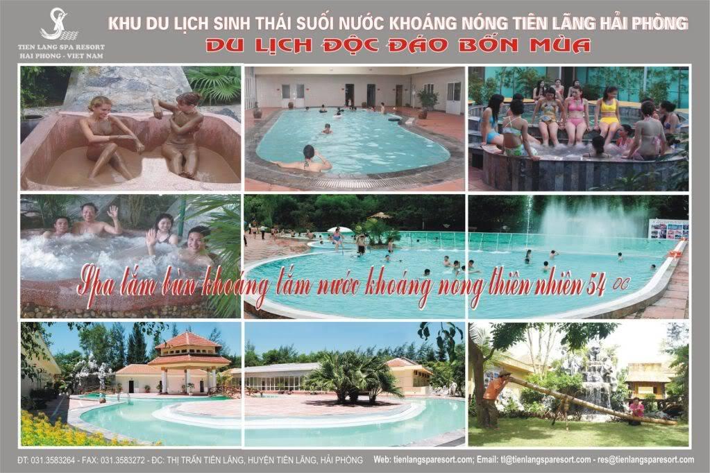 Độc đáo và thú vị với du lịch sinh thái tại Suối Khoáng Nóng Tiên Lãng trong dịp lễ CQthang10VIPSPA