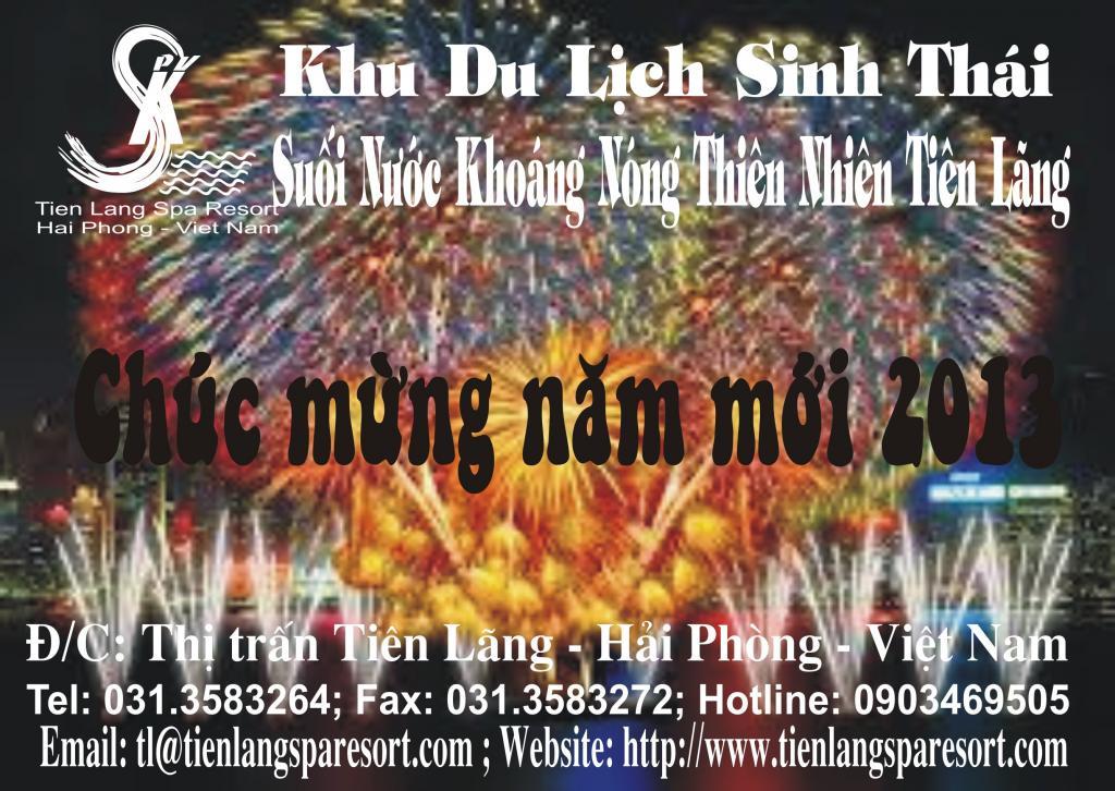 Mừng năm mới tại Tien Lang Spa resort với Gói Du Lịch Tiêt Kiệm! Chucmungnammoicorel2013-5