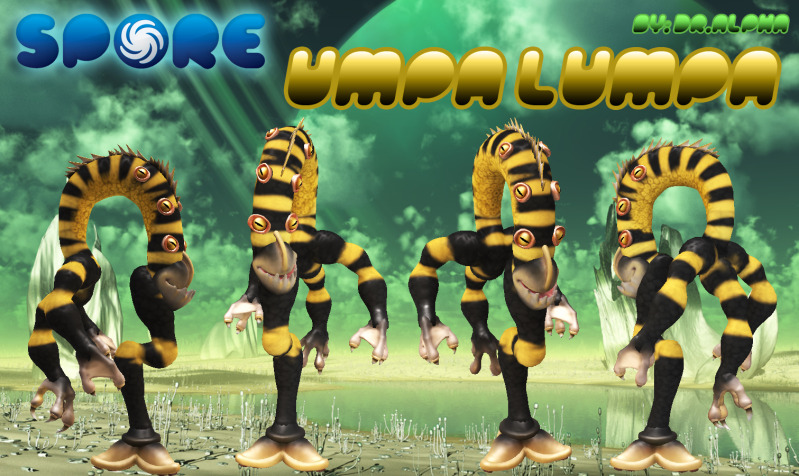 UMPA LUMPA (lunaris unipedo) UMPALUMPA