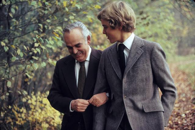 S.A.S. el Príncipe Alberto II de Mónaco 1973