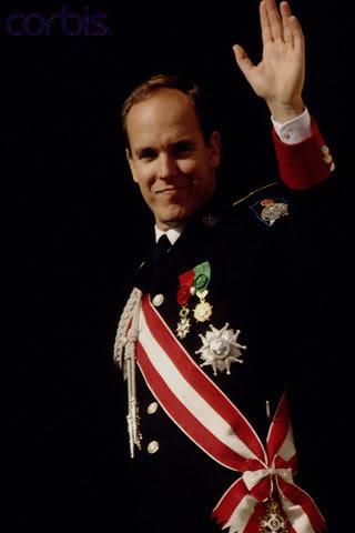 S.A.S. el Príncipe Alberto II de Mónaco 1992dia