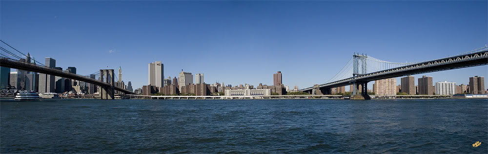 From Brooklyn to Manhattan (Bridges) 10-2006_NYC_Bridges