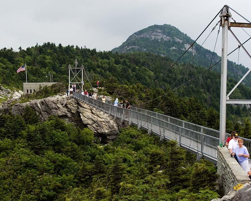"""The """"Mile High"""" Swinging Bridge 7-07-2007_GF_Mountian_002"""