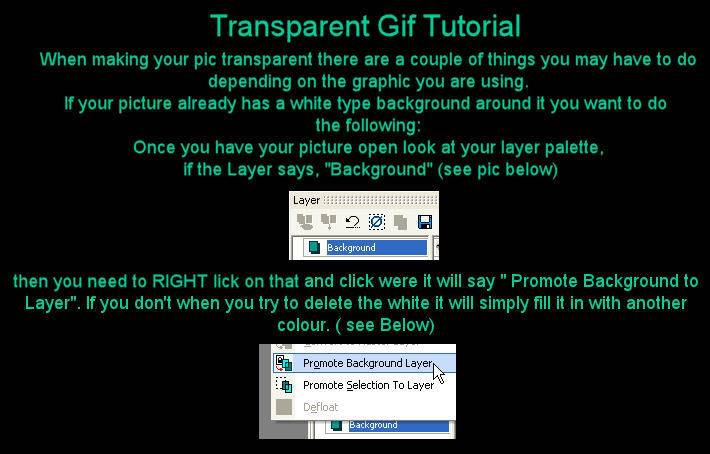 Making your Picture Background Transparent - by Ranae' T1