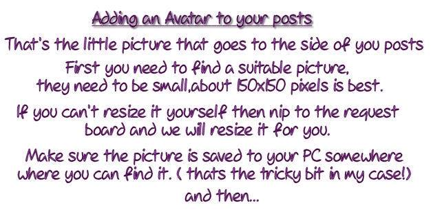 HOW TO ADD A AVATAR Ava1-1