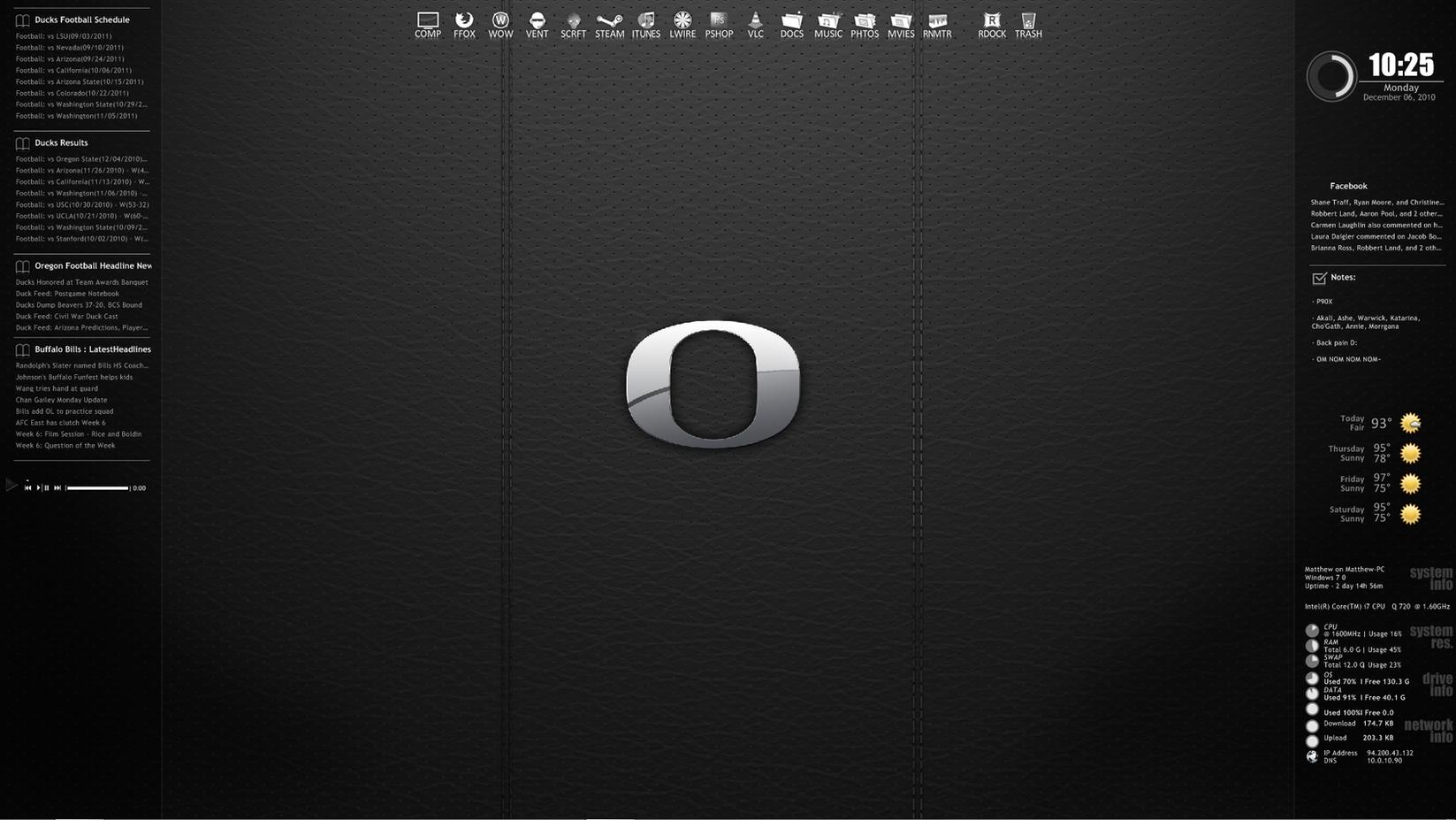 ITT: We post our Desktops! - Page 2 Current