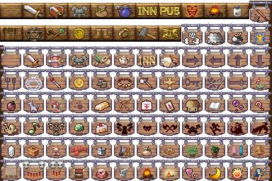 Estanterías y carteles [Charas/Tiles] AIN_Signs