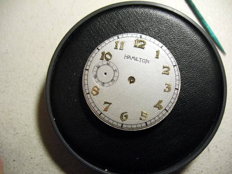 My first vintage Hamilton project Hamdial3