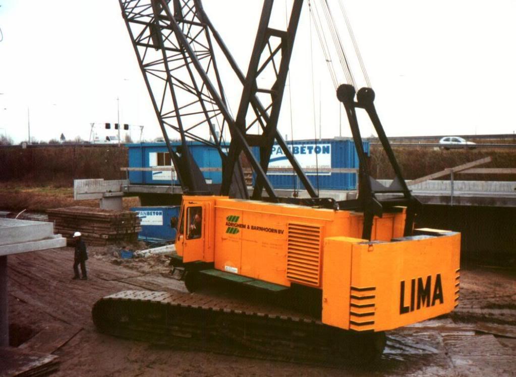 gru lima locomotori gru a corda Lima180ton