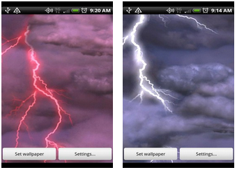 Thunderstorm LiveWallpaper Thunderstorm-android