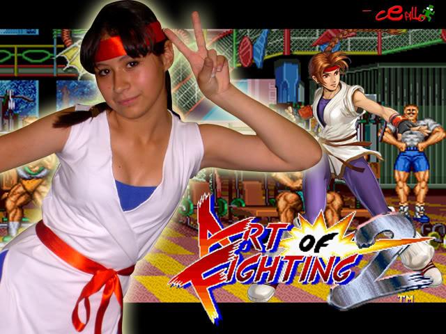 Videojuegos de pelea: ¿Qué opinas de ellos? ArtofFighting2Yuri