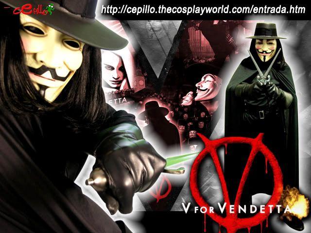 Los Cepicosplays VforVendettaV