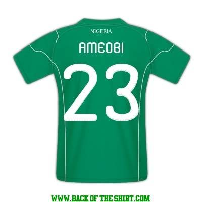 Ameobi bira Nigeriju. Ameobi
