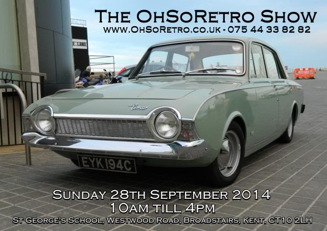 The OhSoRetro Show - Sunday 28th September 2014 FlyerEdit