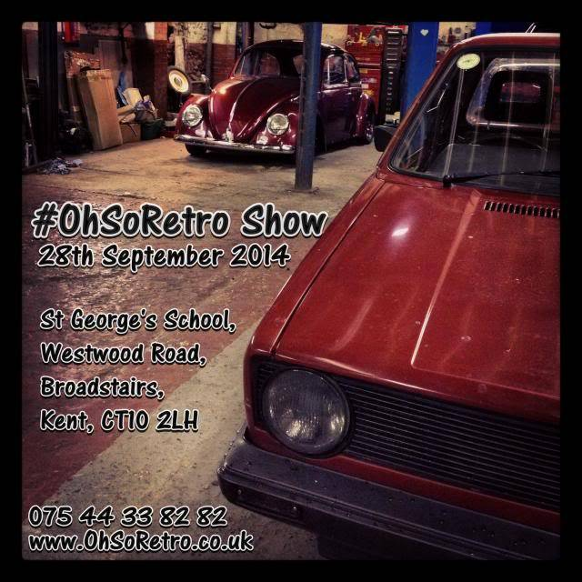 The OhSoRetro Show - Sunday 28th September 2014 InstaFlyer