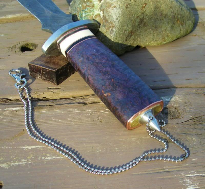 Blackhorse Damascus Dagger (photo heavy) DSCN2712_zps9c22e17d