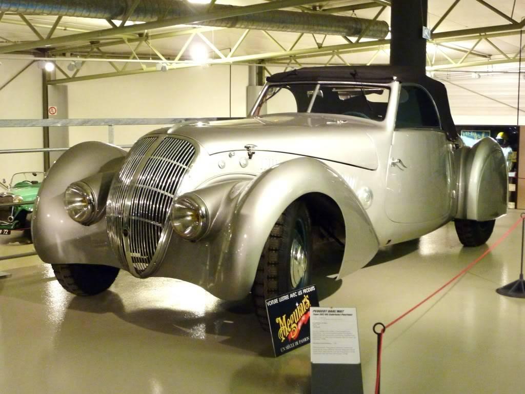 [ FOTOS ] Visita al Museo de las 24h de Le Mans P1020812