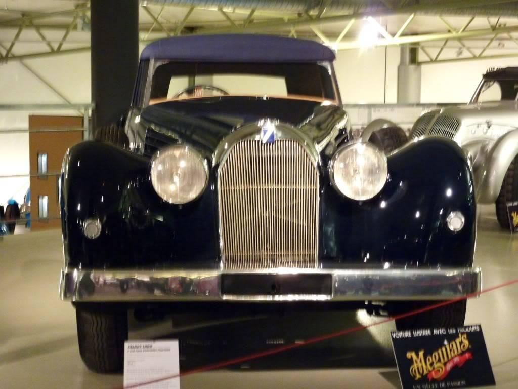 [ FOTOS ] Visita al Museo de las 24h de Le Mans P1020816