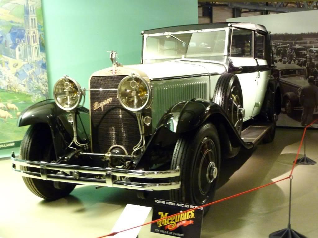 [ FOTOS ] Visita al Museo de las 24h de Le Mans P1020819