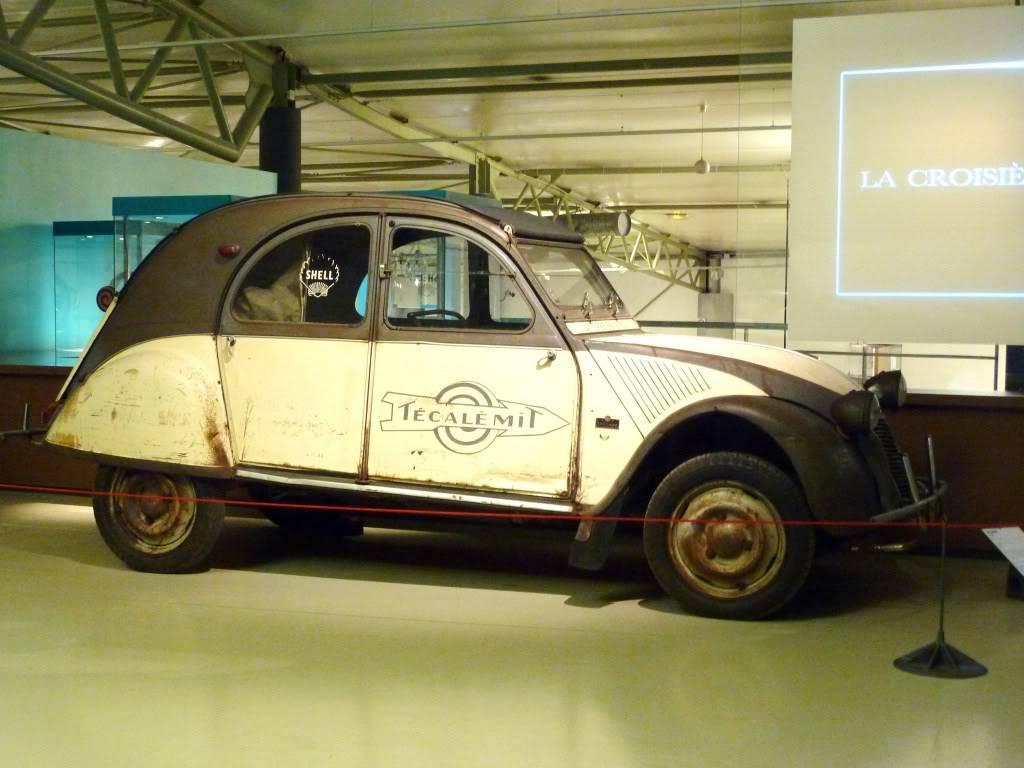 [ FOTOS ] Visita al Museo de las 24h de Le Mans P1020834