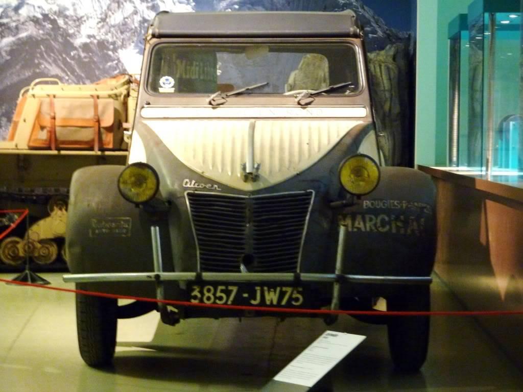 [ FOTOS ] Visita al Museo de las 24h de Le Mans P1020836
