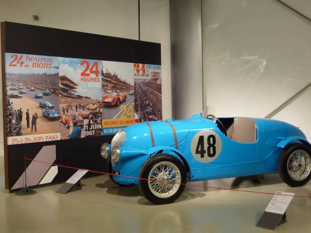[ FOTOS ] Visita al Museo de las 24h de Le Mans P1020843