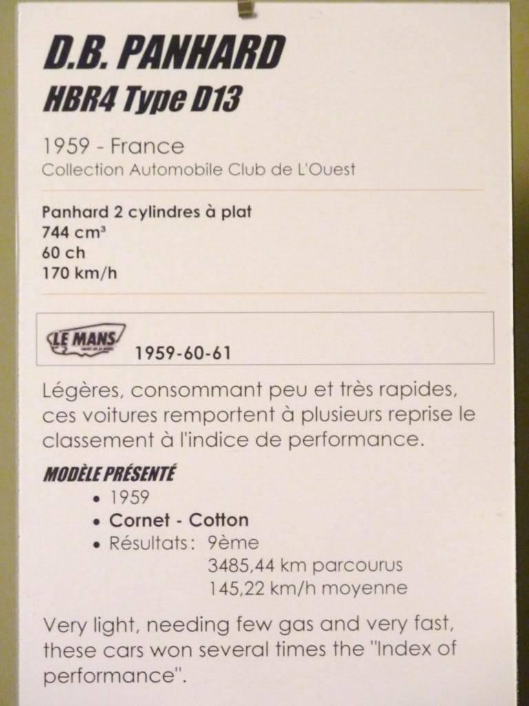 [ FOTOS ] Visita al Museo de las 24h de Le Mans P1020855