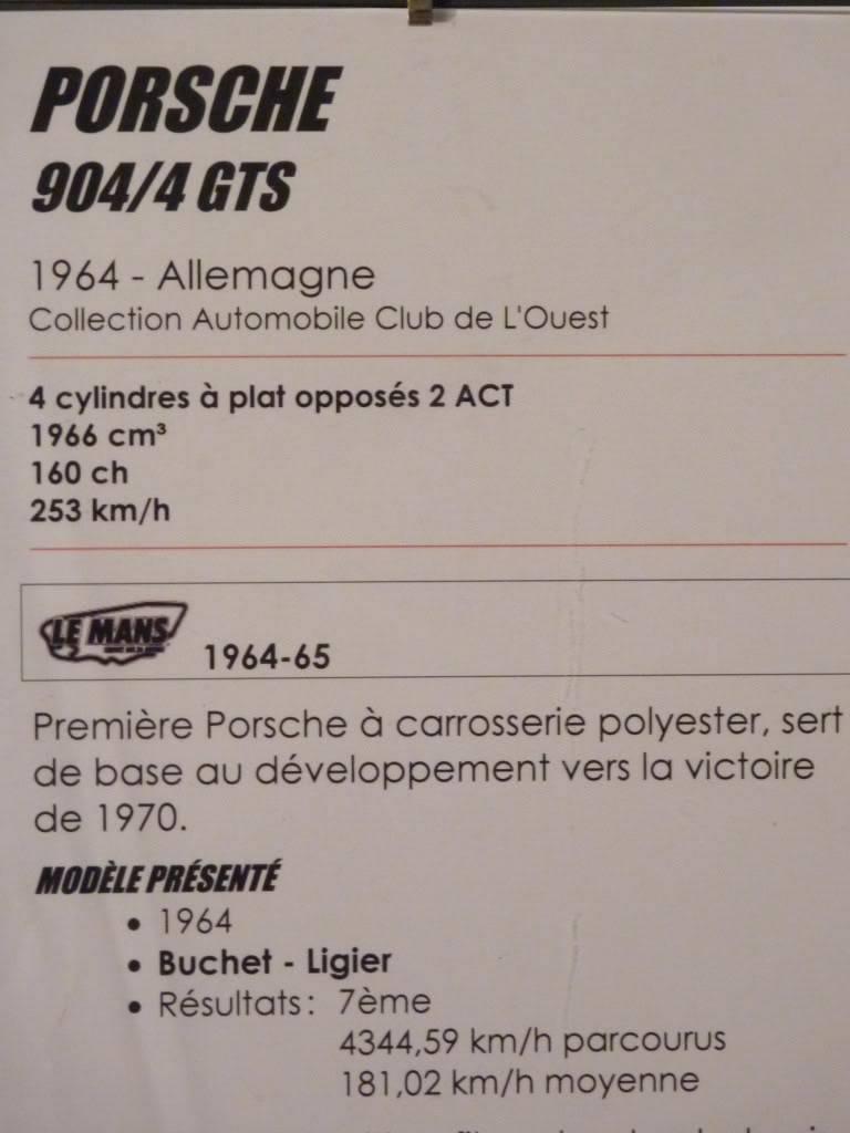 [ FOTOS ] Visita al Museo de las 24h de Le Mans P1020869