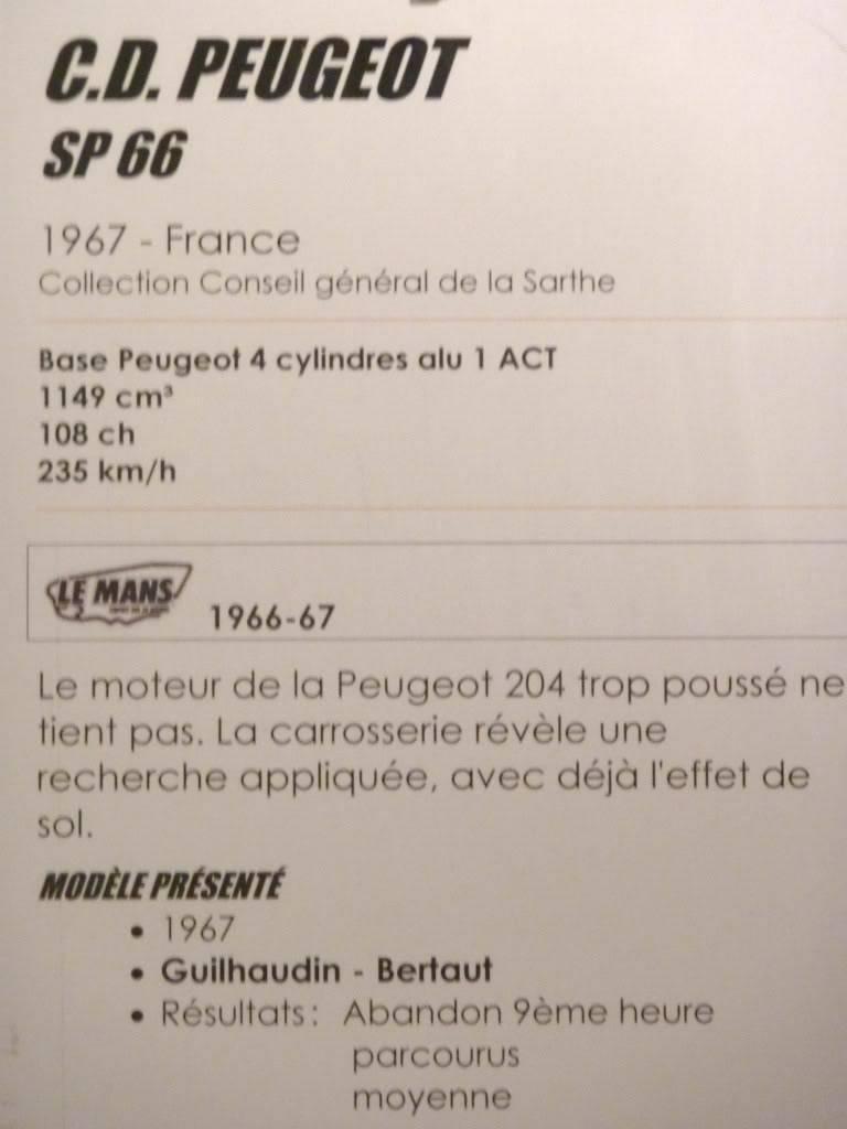 [ FOTOS ] Visita al Museo de las 24h de Le Mans P1020877